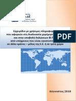 Εγχειρίδιο της ΑΑΔΕ για Α.Φ.Μ./Φ.Π.Α. επιχειρήσεων εντός και εκτός Ε.Ε.
