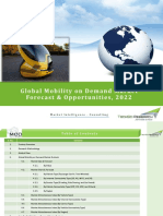 Global Mobility on Demand - 2022 | Techsci Research
