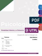 Guia Didactica - Desarrollo de La Inteligencia - UTPL