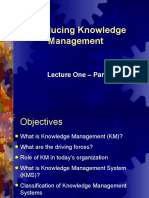 Lecture_1_Introducing Knowledge Management