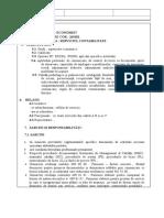 Atributii post economist Contabilitate.doc