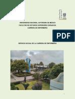 Programa Servicio Social Enfermeria