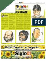 Bostoons 2010 - Siglo 21 No. 540 - Sept 9 Al 15 - 2010