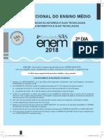 Simulado ENEM 2018 segundo dia