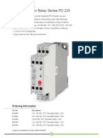 PTC Thermistor Relay Series PD 225| GIC India