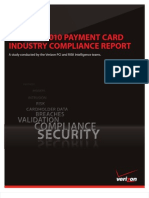 Rp 2010 Payment Card Industry Compliance Report en Xg