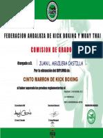 C.D. NORDEN B.A. &  DIPLOMA de  GRADO OFICIAL FAKM 2017 ... MARRÓN  JUAN LUIS A. C.