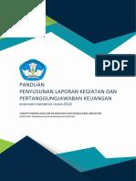 Buku Panduan Penyusunan Laporan Dan Pertanggungjawaban Keuangan 2018 Subdit Lasjurin
