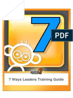 7ways Leader Guide to Children