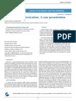 Atropine Intoxication a Case Presentation