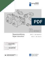 Rexroth A4VG Service Manual