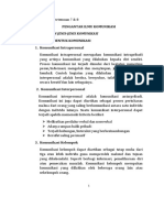 Pengantar Ilmu Komunikasi -Jenis Dan Bentuk Komunikasi