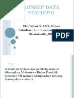 Konsep Data Statistik