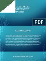 [NEW] Formulasi Tablet Gastroretentive Mukoadhesif.pptx