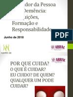 Dra. Marcelha - Questoes Legais Da Profissao de Cuidador 2018
