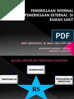 Audit Eksternal Internal Rs