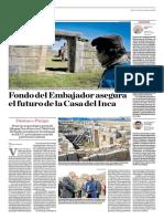 Fondo Del Embajador Asegura El Futuro de La Casa Del Inca