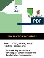 7. Micro Teaching