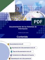 Documentación de Los Sistemas de Información