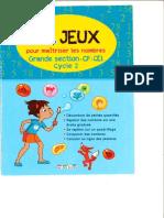 81 Jeux Pour Maitriser Les Nombres Gs Cp Ce1