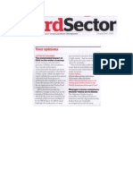 Is SROI Damaging Our Economy 3rd Sector Magazine 02.08