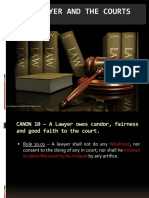 Chapter 3 - The Lawyer and the Courts