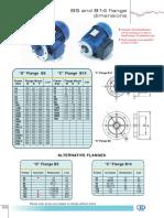 Flange Dimensions for Electric motors.pdf