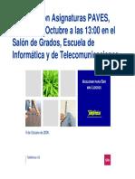 Presentacion Paves 09102006