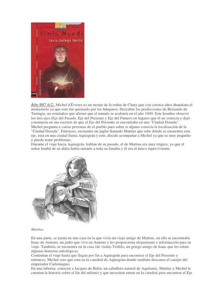 Descargar Libro Gratis Pdf Finis Mundi Laura Gallego Ano 997 D Docx Carlomagno