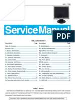 Aoc Service Manual-hp l1706 Gm2621 a00 9615