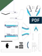 Dash8 Papercraft-Part1