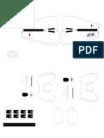 Dash8 Papercraft-Part3