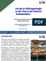 Importancia de La Hidrogeología SGP