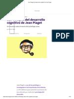 _Las 4 Etapas Del Desarrollo Cognitivo de Jean Piaget