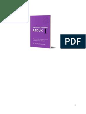 Understanding Redux - 1   Parameter (Computer Programming