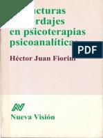 Estructuras y abordajes en psicoterapias psicoanalíticas - Fiorini Hector Juan (2008)
