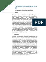 ANTROPOLOGIA La tecnología en la sociedad de fin de siglo.docx