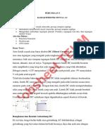 Rangkaian Listrik II Jobsheet 1 Karakteristik Sinyal AC