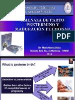 AMENAZA PARTO PRETERMINO 2014.pptx