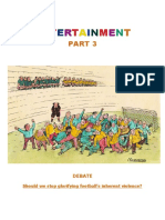 Entertainment B2 Part 3