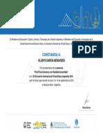 CONSTANCIA DE PARTICIPACIÓN