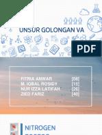 GOLONGAN 5A UNSUR
