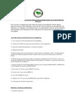 Requisitos Para Realizar Operacines Inmobiliarias en El Registro de Titulos