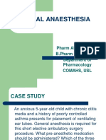 8a. General Anaesthesia