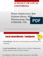 9. Local Anaesthetic Agaents Updated x