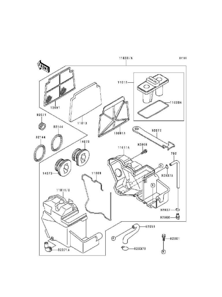 EX250 Parts