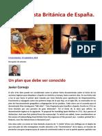 La Conquista Británica de España - Un plan que debe ser conocido
