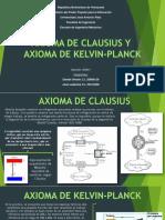 AXIOMA DE CLAUSIUS Y  AXIOMA DE KELVIN-PLANCK