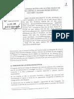 Denuncia contra Pedro Chávarri ante el Consejo de Etica del CAL