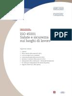 Supporto Clienti SQS_ISO 45001 Salute e Sicurezza Sui Luoghi Di Lavoro